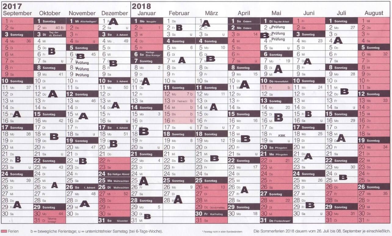 BILD (Kalender 2017-2018)
