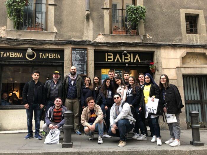 Erasmus+ Gruppenbild