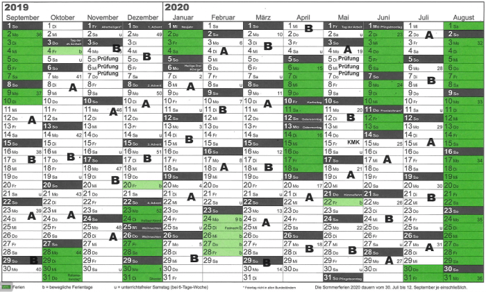 Blockplan 2019-20